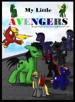 My Little Avengers by Flynn-the-cat