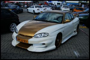 1997 Hyundai Coupe by compaan-art