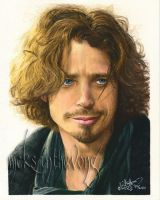 Chris Cornell II by disdaindespair
