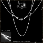 Sparkly Necklace Overlays - PNG and PSD Included by AmandaKulpStock