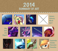 Art Summary 2014 by Underpable