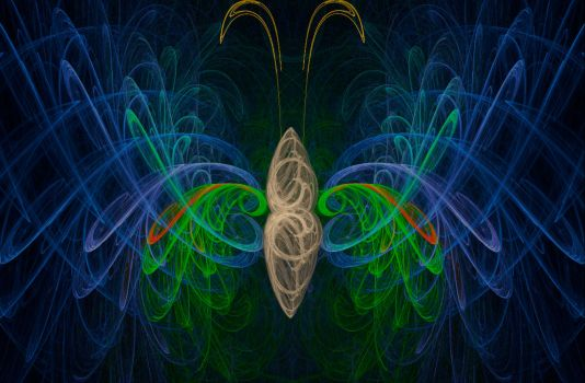 Fractal Butterfly by BootRecords