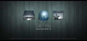 De Freu. -Icon Pack. by Uribaani