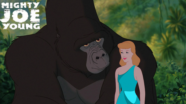 Mighty Joe Young Disney Animated Style by waterbender412