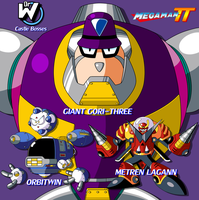 Megaman TT's Wily Bosses by JusteDesserts