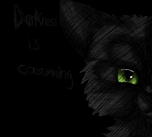 Consuming Darkness by Silvy-Fret