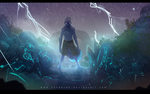 Lightning ruins by synderen