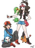 Pokemon Black and White by Gkenzo