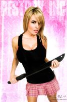 Breena and the Machete by destroyinc