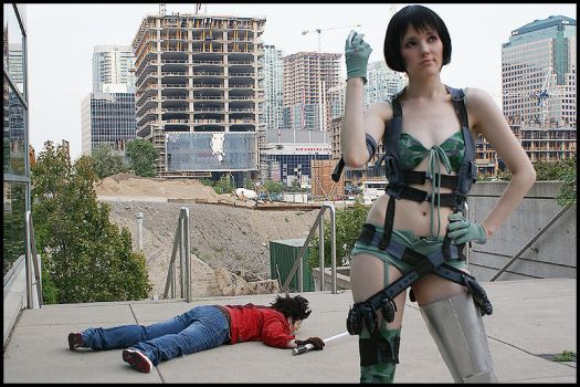 Oh Travis Touchdown... by megsnow