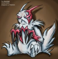 Request Prize-Zangoose by Comickpro