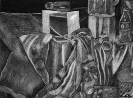 Charcoal Still-life by Chalax91