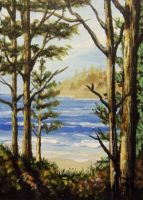 ACEO The View From Within by annieoakley64