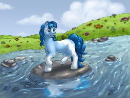 Crossing the river by DarkDragon774