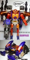 Beast Wars figures: Rampage. by Lugnut1995