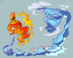 Fire and Ice part 2: Tundra by Koui