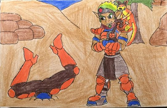 Victory for Jak and Daxter by moguera2013