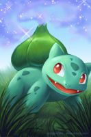 Bulbasaur's Sleep Powder by arkeis-pokemon