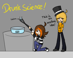 DRUNK SCIENCE by Remmis-AppleMaster