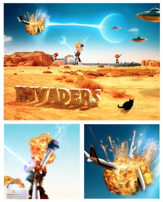 Invaders by Dioude