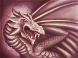 Dragon 3 by MrsGraves