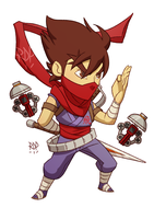 strider - commission by samuraiblack