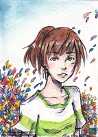 Chihiro - ACEO by Disaya