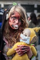 Zombie Walk Paris 2014 by solcarlusmd
