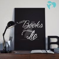 I Like Big Books and I Cannot Lie Print by themidwestdarling