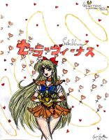 Pretty Soldier Sailor Venus *color* by Jago-Mizukami