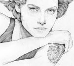 you never can tell . Amber Valletta by grafnarq