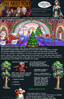 The Arad Post Christmas Edition by TooneGeminiElf