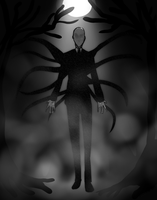 Slenderman by GazeRei