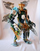 Bionicle MOC: Light Brother by Rahiden