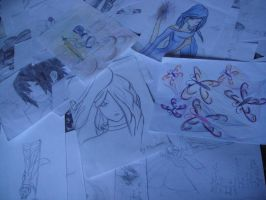 My drawings by 99andreea