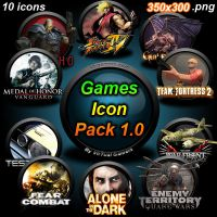 Games Icon Pack 1.0 by LUGHN4S4D