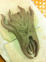 The First Dragonborn's Mask by TheSEB93