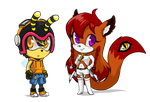More Chibis by Merokosart