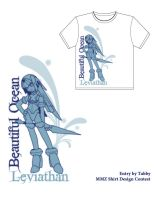 Leviathan T-shirt by digitallyfanged