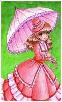 victorian magenta by AngieR3741