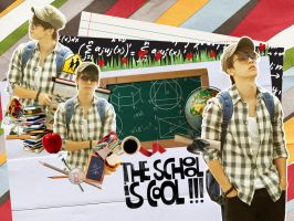Donghae-Go to School by qdlego
