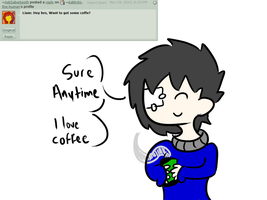 Question 21:Coffee by ask-kytothehero