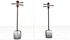 Shamisen MMD Accessory Download by Pokeluver223