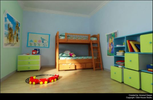 Kids room by ihaque