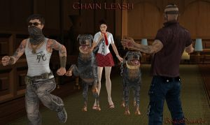 100% pose-able Chain Leash (Re-Updated) by bstylez