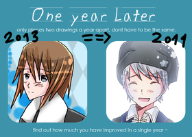 + One Year Later Meme: 2013 vs 2014 + by SerketStalker