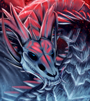 [Speedpaint] The Great Blue Lord [Aphelion] by Soulsplosion