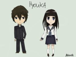 Hyouka (Style practicing) by Akkorde