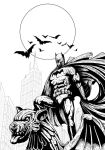 Gothams Guardian (lines) by Raydzl