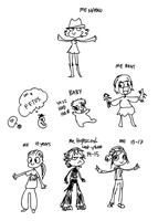 Evolution of tina by griffsnuff